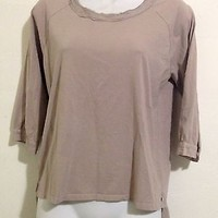 Geren Ford Nude Women's Blouse Size S