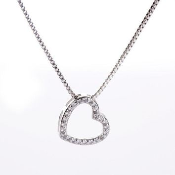 ca DCCKTM4 New Arrival Shiny Gift Jewelry 925 Silver Simple Design Design Diamonds Box Fashion Stylish Necklace [8026162631]