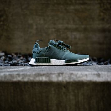 Adidas NMD_R1 (Trace Green/White/Black)
