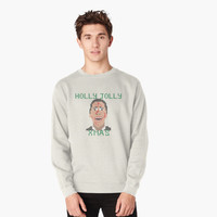 'Faux-Knitted Christmas Bateman' T-Shirt by FlyNebula