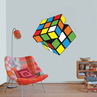 Rubik Cube - Wall Decal for housewares