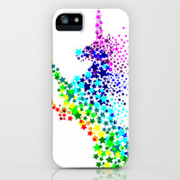 Unicorn - Licorne - Unicornio - Einhorn 02 iPhone & iPod Case by Condor