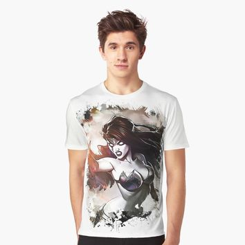 """Fallen Angel MORGANA"" Graphic T-Shirt by Naumovski 