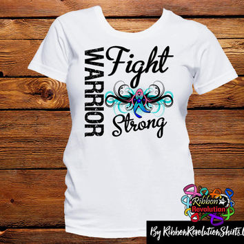 Thyroid Cancer Warrior Fight Strong Shirts