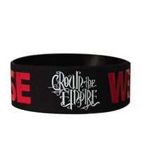 Crown The Empire We Are The Noise Black Wristband - Buy Online at Grindstore.com