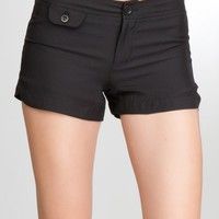 bebe Mini Satin Short $56.00