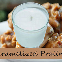 Caramelized Pralines Scented Candle in Tumbler 13 oz