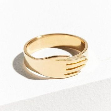 DCCKVE6 KOPI Hand Ring | Urban Outfitters