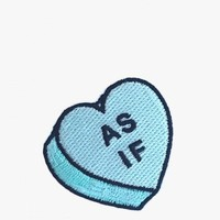 """As If"" Heart Patch"