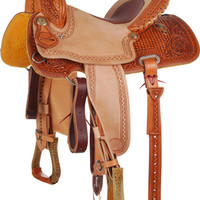 NRS Competitor Series 1/2 Breed Barrel Racing Saddle