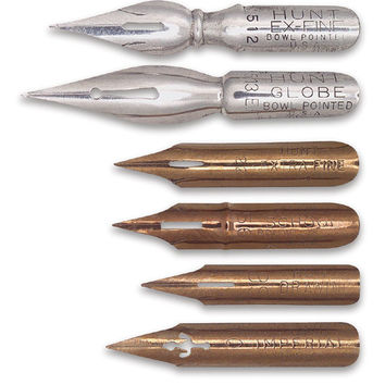 Speedball Standard Point Dip Pen Nibs - BLICK art materials