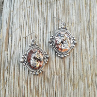 Victorian Horse Earrings