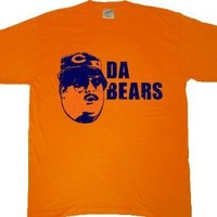 SNL Chicago Da Bears Orange T-Shirt Tee