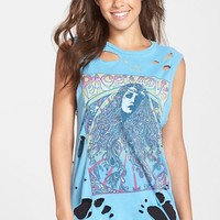 Women's Lauren Moshi 'Roxanne' Destroyed Muscle Tank