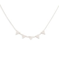 Reina Silver Necklace