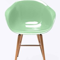 Kare Armrest Chair in Mint - Urban Outfitters