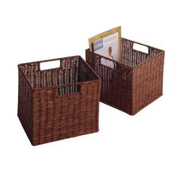 Leo Set of 2, Wired Basket, Small