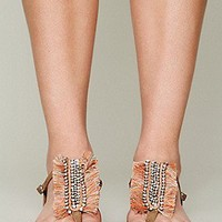 Ambre Babzoe  Bella Fringe Sandal at Free People Clothing Boutique
