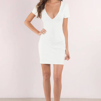 Lace Up To It Bodycon Dress