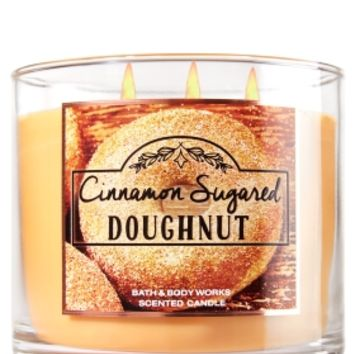 3-Wick Candle Cinnamon Sugared Doughnut