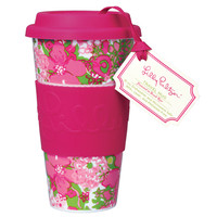 Travel Mug - Beach Rose - Lilly Pulitzer