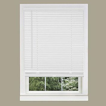 Ben&Jonah Collection Cordless GII Morningstar 1 inch  Mini Blind 36x64 - Pearl White