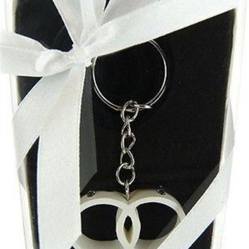 Wedding Bridal Shower Anniversary Party Favor Souvenir Gift Keepsake Ready Made, Key Chain, Rings