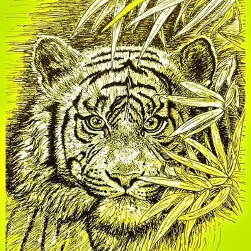 Tiger - King Of The Jungle Greeting Card