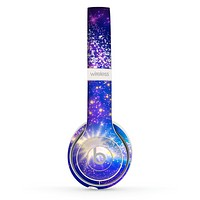 The Glowing Pink & Blue Comet Skin Set for the Beats by Dre Solo 2 Wireless Headphones