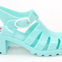 JuJu Babe 80s Jelly Sandals at Mr Shoes UK