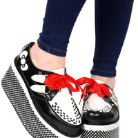 HELLO KITTY BOW DOT CREEPERS