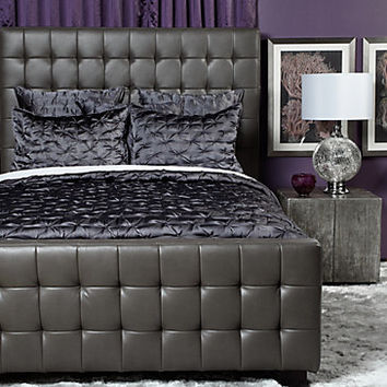 West Street Bed - Grey | Beds | Bedroom | Furniture | Z Gallerie