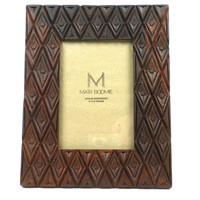 INDIAN PALACE ROSEWOOD FRAME FOR 4X6 PHOTO  - MATR BOOMIE