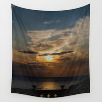 Sunset II Wall Tapestry by VanessaGF