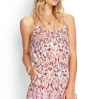 Far Out Kaleidoscope Romper