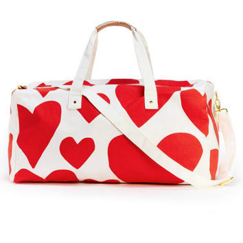 The Getaway Duffle Bag {Hearts}