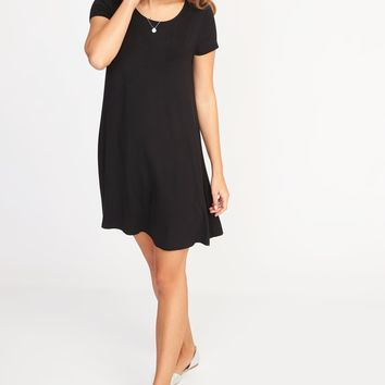 Jersey-Knit Swing Dress for Women | Old Navy