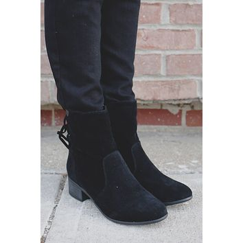 Collins Mid-Calf Boot - Black