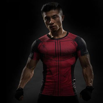 Deadpool Dead pool Taco Fun  Shirt Tee 3D Printed T-shirts Men Fitness G ym Clothing Male Tops Funny T Shirt Superman  Costume Display AT_70_6