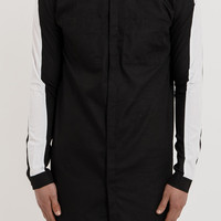 SH155 Colourblind Elongated Shirt - Black
