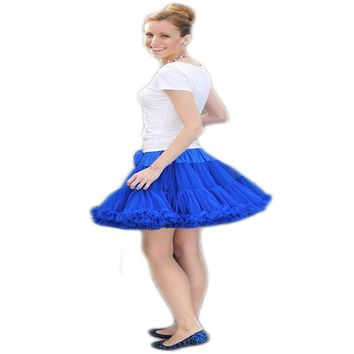 Extra Fluffy Teenage Girl Adualt Women Pettiskirt Tutu Women Tutu Party Dance Adult Skirt Performance Cloth