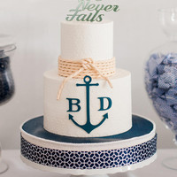 Love Never Fails Cake Topper