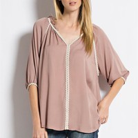 Clooney Trimmed Tunic