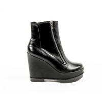 Robert Clergerie Paris Womens Wedge Ankle Boot