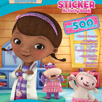 disney doc mcstuffins giant sticker book Case of 24