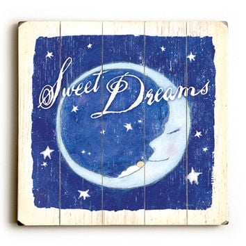 Baby Sweet Dreams Wood Sign