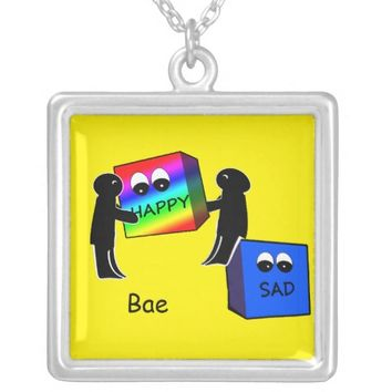 Bae friends necklace