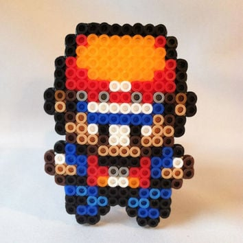 Pokemon Perler Bead: Red - Pokemon Trainer