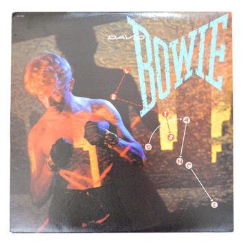 Vintage 80s David Bowie Let's Dance Album Record Vinyl LP