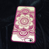 Rose Hollow Out Lace Case Cover for iphone 5s 6 6s Plus Gift 177